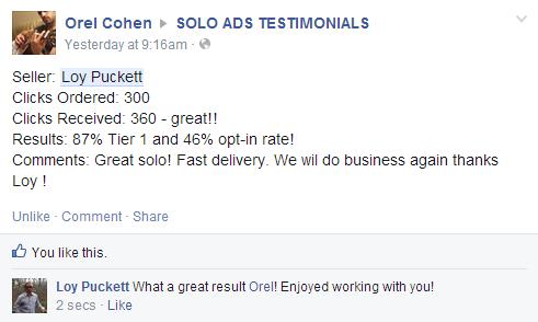 Orel testimony