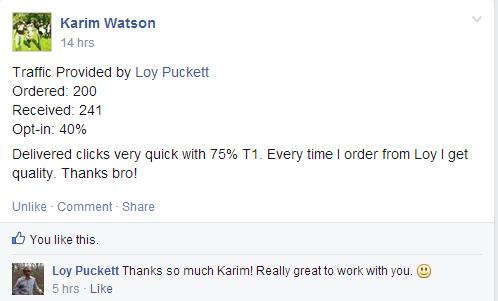 testimonial from Karim